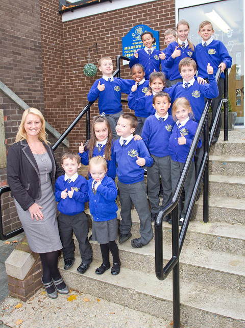 Good OFSTED Report for Milnrow Parish CE Primary School