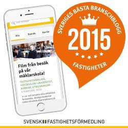 Sveriges bästa branschblogg 2015