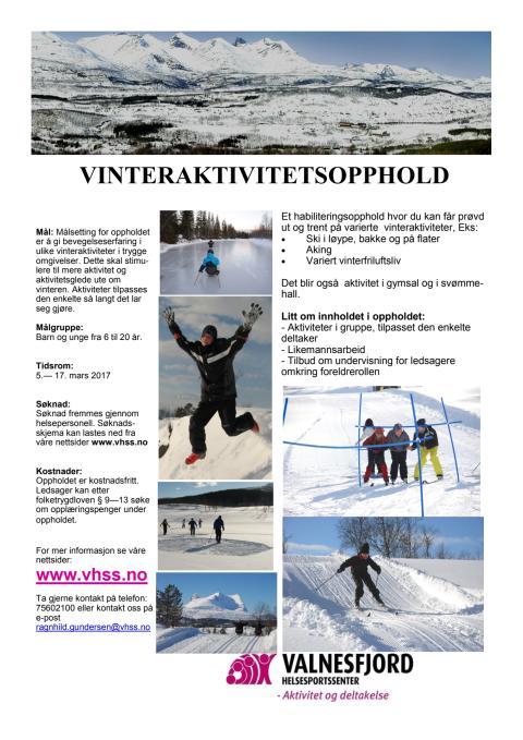 Vinteraktivitetsopphold
