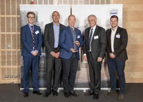 "Momentum har tilldelats ""Volvo Cars Quality Excellence Award"""