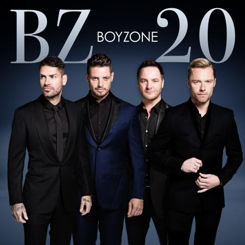 BOYZONE fejre deres 20 års jubilæum med ny single, nyt album og turne.