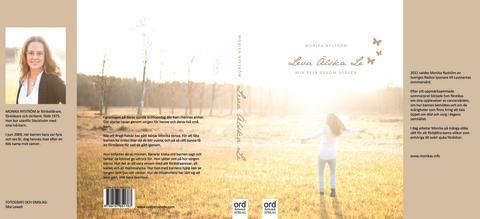 """Omslaget till """"Leva Älska Le - Min väg genom sorg"""""""