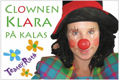 Kulturgården Hux Flux bjuder in till clownföreställning