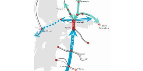 Sweco tekee esiselvityksen Helsinki-Tallinna välisen tunnelin kannattavuudesta