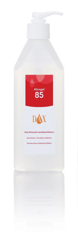 DAX alcogel pump