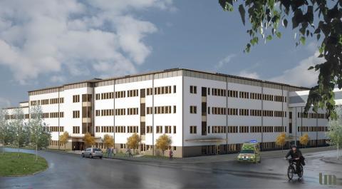 Umeå Universitetssjukhus erhåller Gröna lån för klimatsmart psykiatribyggnad