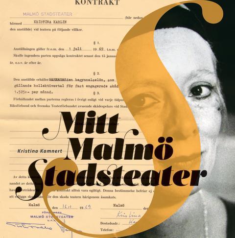 """Boka in redan nu - release för Kristina Kamnerts nya bok """"Mitt Malmö Stadsteater"""""""