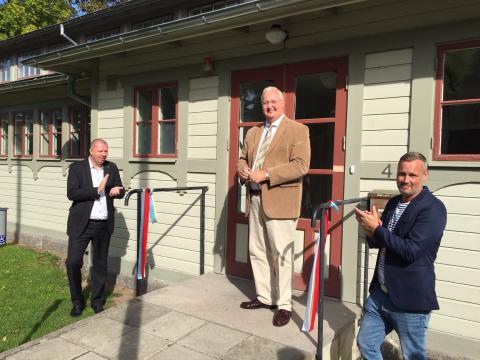 Projektkontor Gribshunden c/o Kallvattenkuren invigt