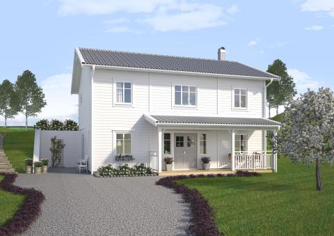 Villa Älvsåker, front