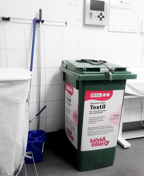Fastighetsnära insamling (FNI) av textil i tvättstuga 2