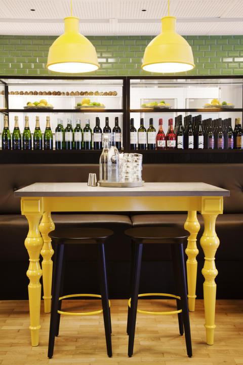 Wenner-Gren Center Restaurang Retro
