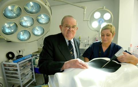 Northumbria awards Lord Walton with honorary degree