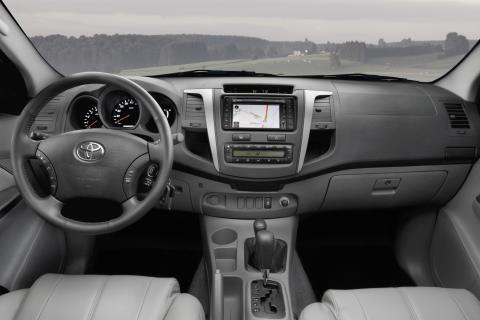 Toyota Hilux 2009, interiör