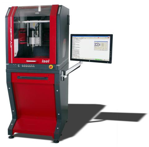 Med rätt tillbehör kan ICV 4030 användas för att t.ex borra, mäta, skära, dispensera, limma, grada, polera, testa, scanna, trycka, placera, montera, skruva och mycket mer.