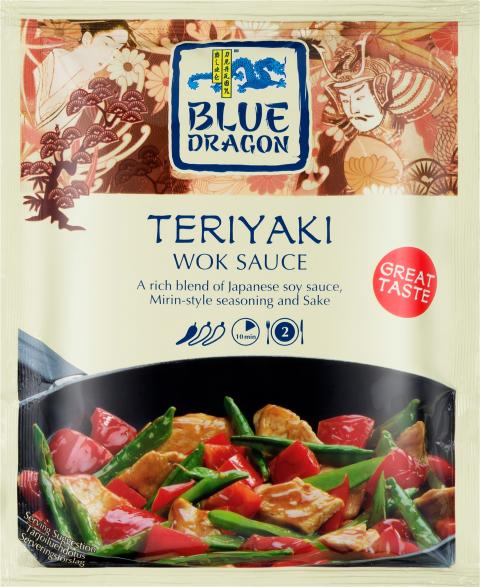 Blue Dragon Woksås Teriyaki