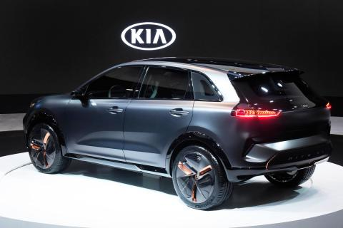 Kia Niro EV Concept rear side