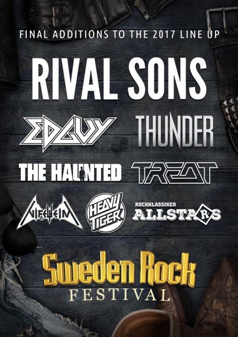 Sweden Rock Festival:  De sista åtta akterna klara!