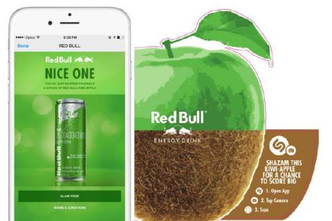Shazam Partners With Red Bull For New Product Launch