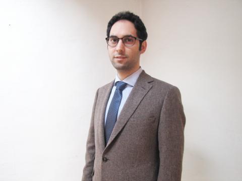 Seyed Reza Atefi, forskare på KTH.