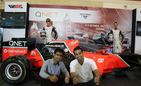 F1 fans and QNET IRs got the opportunity to take photos with the exclusive vehicle