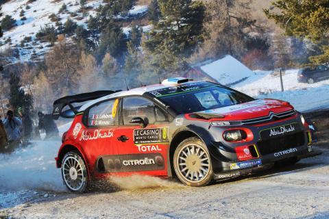 SVENSKA RALLYT 2017: Citroën satsar fullt i Värmlandsskogarna med nya C3 WRC