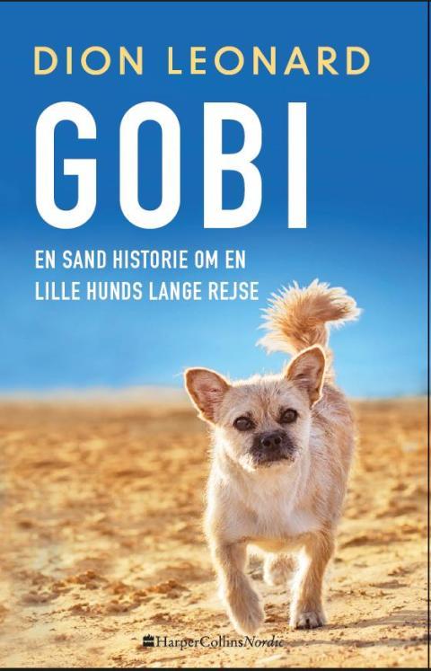 """Udkommer i dag: """"Gobi - en sand historie om en lille hunds lange rejse"""" af Dion Leonard"""