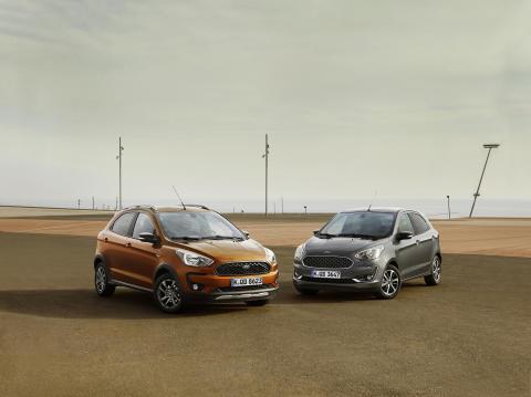 Ford präsentiert den neuen KA+ inklusive interessanter Crossover-Variante KA+ Active