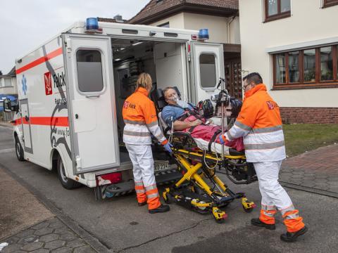 Falck udvider ambulancedriften i Potsdam-Mittelmark