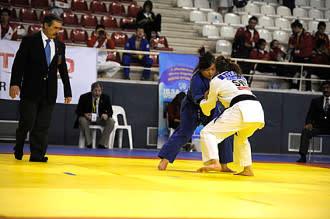 Nicolina Pernheim satsar på medalj i judo-EM