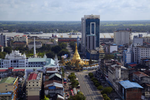 Panalpina moves into Myanmar
