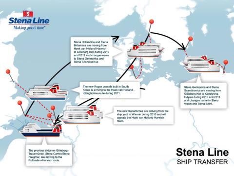 Ny milstolpe i Stena Lines miljardinvesteringsprogram