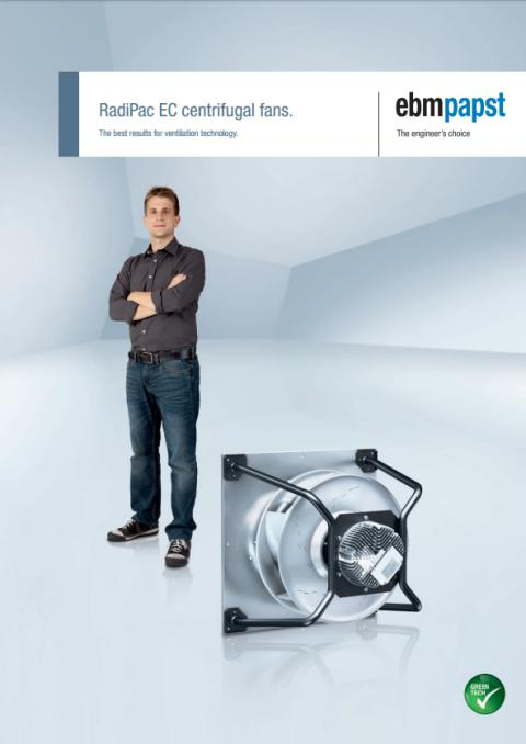 Broschyr: RadiPac EC centrifugal fans - The best results for ventilation technology.