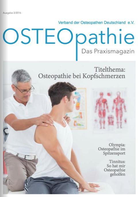 3. Ausgabe der Osteopathie-Patientenzeitung auf dem Markt