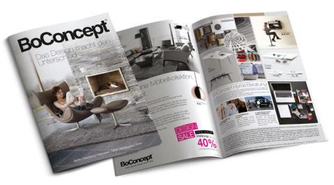 Der neue BoConcept Prospekt - Design kompakt auf einen Blick