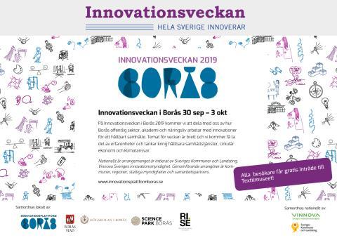 Innovationsveckan Borås 2019 - PROGRAM