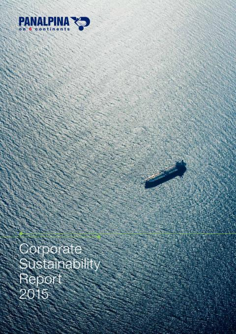 Panalpina Corporate Sustainability Report 2015
