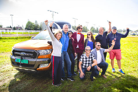 Hest360FordChallenge Ryggekonkurranse Øvrevoll 25.08 2019