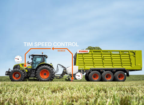 CARGOS now with TIM SPEED CONTROL