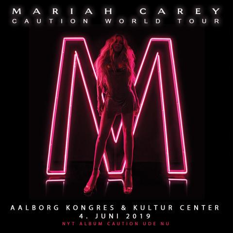 Superstjernen Mariah Carey til Aalborg 4. juni