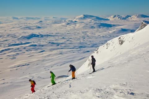 Skiing, Jämtland Härjedalen