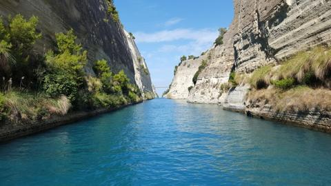 Fred. Olsen offers guests a second chance to experience record-breaking Corinth Canal sailing in early launch of 2021 cruise