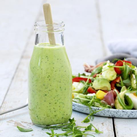 Grön salladssås