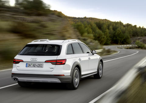 Ny Audi A4 allroad quattro - den perfekte ledsager i alle situationer