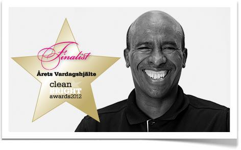Inspiras Amanuel nominerad i Clean Bright Awards!