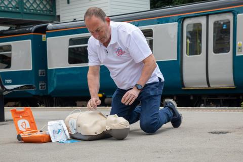 Community Resuscitation Trainer Steve Morris