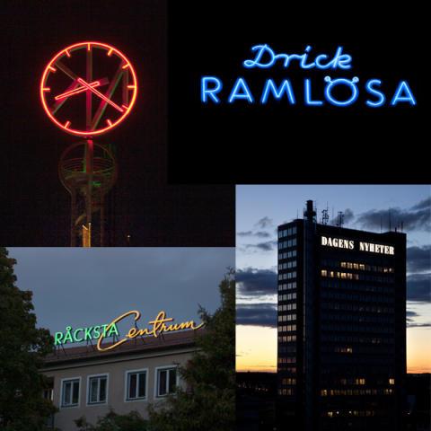 Lysande skylt och Stockholms skyltpris 2012