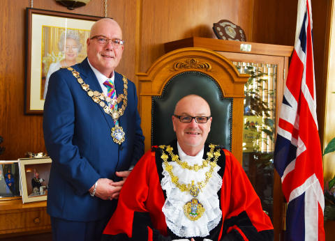 Former council leader is the new Mayor of Bury
