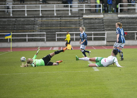 Sigrid Persson räddade en poäng åt Hammarby