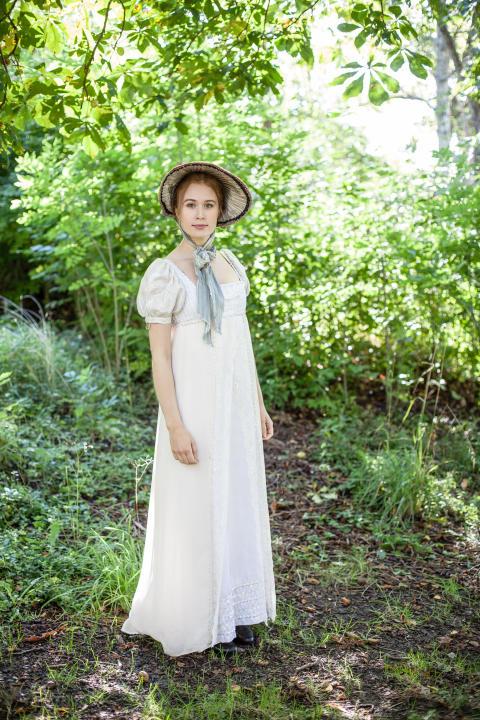 Dräktutställning med Jane Austen-tema