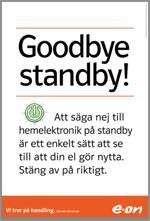 Annons Goodbye Standby